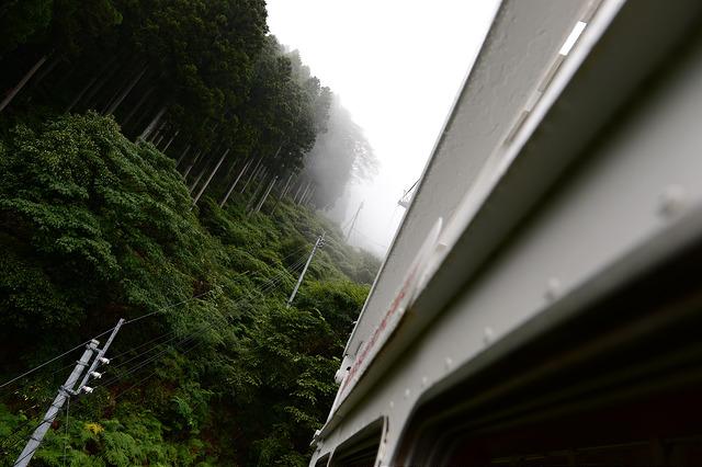 身延山久遠寺のロープウェイ
